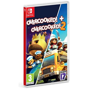 Overcooked! + Overcooked! 2 - Double Pack - Nintendo Switch (5056208806062)
