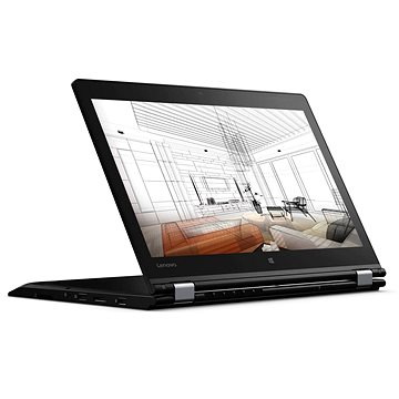 Lenovo ThinkPad P40 Yoga (20GQ000KMC) + ZDARMA Myš Microsoft Wireless Mobile Mouse 1850 Black