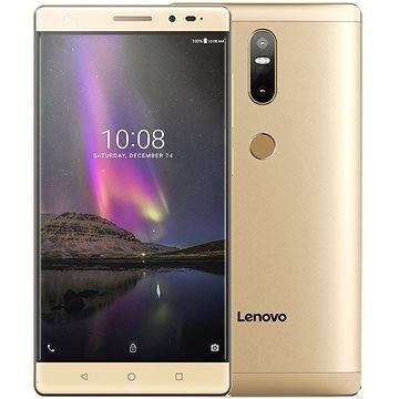 Lenovo PHAB 2 Plus 32GB Champagne Gold (ZA1C0046CZ) + ZDARMA Mobilní internet TWIST Online Internet s kreditem 200 Kč (Lenovo) Digitální předplatné Týden - roční