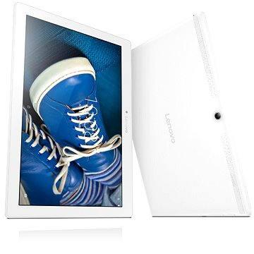 Lenovo TAB 2 A10-30 LTE Pearl White (ZA0D0025CZ) + ZDARMA Mobilní internet TWIST Online Internet s kreditem 200 Kč (Lenovo)