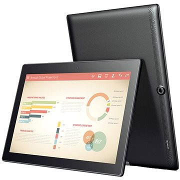 Lenovo TAB 3 10 Business 32GB LTE Slate Black (ZA0Y0008CZ)