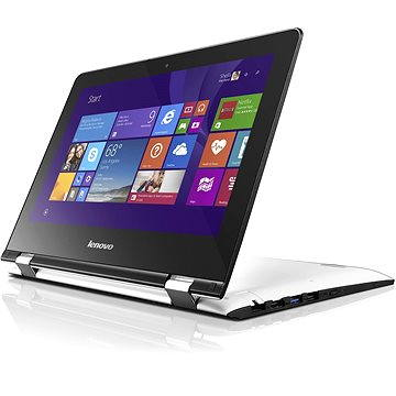 Lenovo IdeaPad Yoga 300-11IBR White (80M100HFCK) + ZDARMA Elektronická licence Zoner Photo Studio, registrace podle SN na http://www.zoner.cz/lenovo/