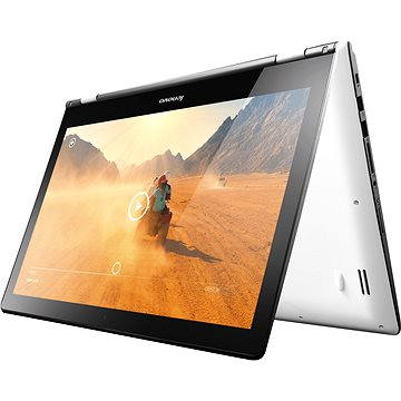 Lenovo Yoga 500-15IBD White (80N600F6CK) + ZDARMA Digitální předplatné Týden - roční Elektronická licence Zoner Photo Studio, reg. dle SN (uvedeného na přístroji) na http://www.zoner.cz/lenovo/