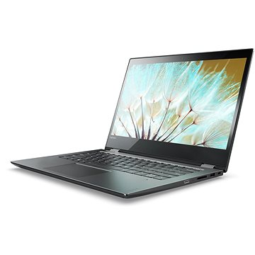 Lenovo Yoga 520-14 Onyx Fekete (80X800B1HV) + ZDARMA Myš Microsoft Wireless Mobile Mouse 1850 Black