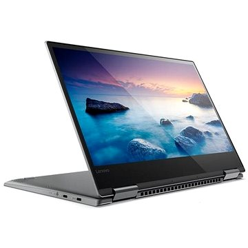 Lenovo Yoga 720-13IKB Iron Grey kovový (80X6006SCK) + ZDARMA Myš Microsoft Wireless Mobile Mouse 1850 Black