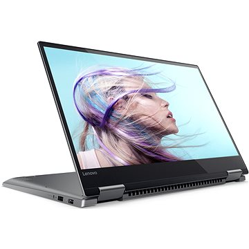 Lenovo Yoga 720-15IKB Iron Grey kovový (80X70047CK) + ZDARMA Myš Microsoft Wireless Mobile Mouse 1850 Black