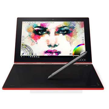 Lenovo Yoga Book 10 128GB Red (ZA150259CZ)