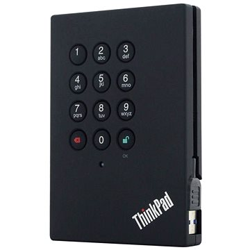 Lenovo ThinkPad USB 3.0 Secure Hard Drive - 1TB (0A65621)