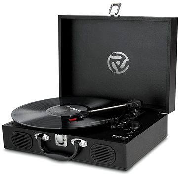 Numark PT01 Touring Classically-styled Suitcase Turntable(QNUM036)