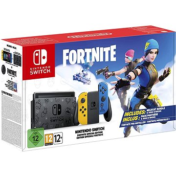 Nintendo Switch - Fortnite Special Edition (045496453237)