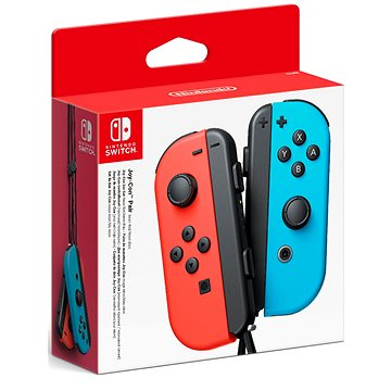 Nintendo Switch Joy-Con ovladače Neon Red/Neon Blue (NSP080)