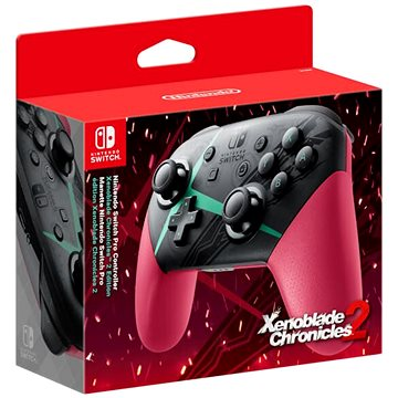 Nintendo Switch Pro Controller - Xenoblade Chronicles 2 Edition (045496430818)