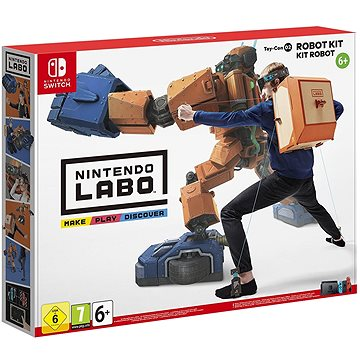 Nintendo Labo - Toy-Con Robot Kit pro Nintendo Switch (045496421595)