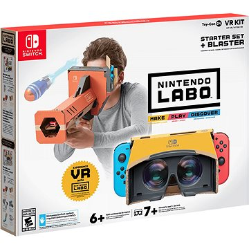 Nintendo Labo - VR Kit Starter Set + Blaster pro Nintendo Switch (045496424114)