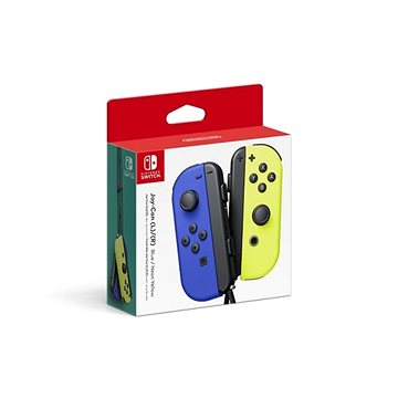 Nintendo Switch Joy-Con ovladače Blue/Neon Yellow (045496431303)