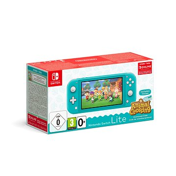 Nintendo Switch Lite - Turquoise + Animal Crossing + 3M NSO (045496453299)