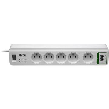 APC Essential SurgeArrest, 5 zásuvek s ochranou telefonního vedení 230V, Francie (PM5T-FR)