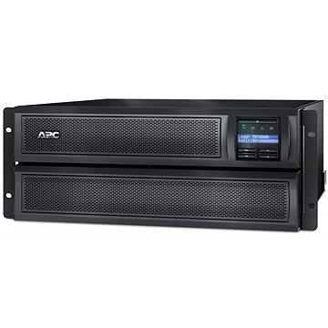 APC Smart-UPS X 2200VA konvertibilní mezi mělkou věží a stojanem, LCD 200-240 se síťovou kartou (SMX2200HVNC)