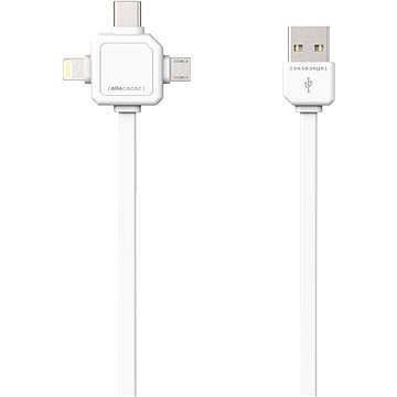 PowerCube Cable 1.5m bílý