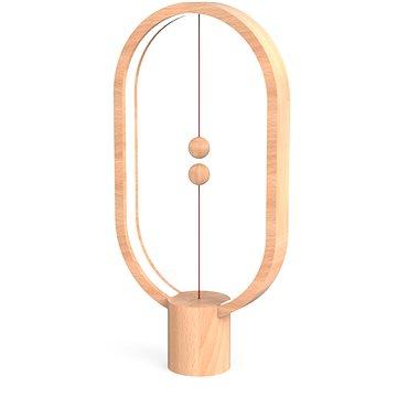 Powercube Heng Balance Lamp Ellipse světlé dřevo