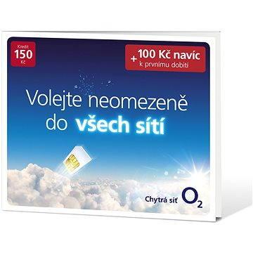 O2 hlasová karta PředplaDENka (SMALLPO2.150DV34)