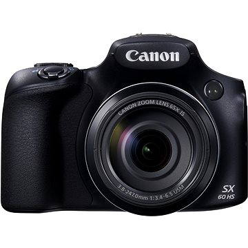 Canon PowerShot SX60 HS černý (9543B002)