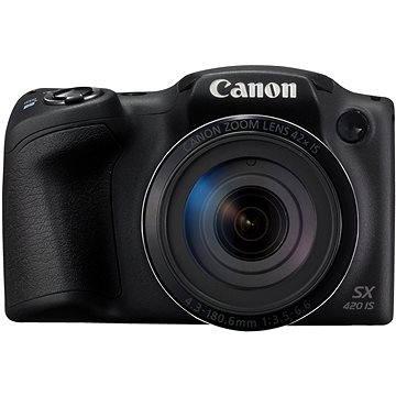 Canon PowerShot SX420 IS černý (1068C002AA) + ZDARMA Ministativ JOBY GorillaPod Magnetic červený