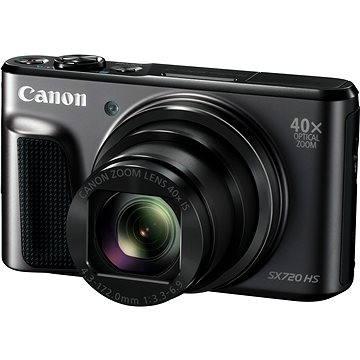 Canon PowerShot SX720 HS černý (1070C002AA) + ZDARMA Poukaz Elektronický dárkový poukaz Alza.cz v hodnotě 500 Kč, platnost do 28/2/2017
