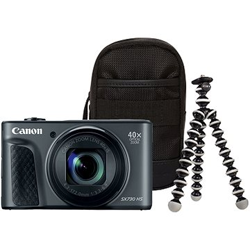 Canon PowerShot SX730 HS černý Travel Kit (1791C016)