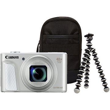 Canon PowerShot SX730 HS stříbrný Travel Kit (1792C014)