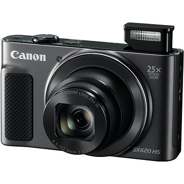 Canon PowerShot SX620 HS černý (1072C002AA) + ZDARMA Pouzdro Canon DCC-1500