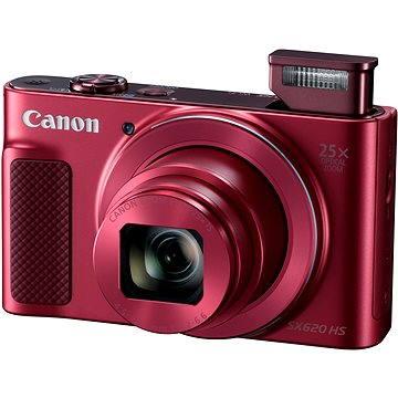 Canon PowerShot SX620 HS červený (1073C002AA) + ZDARMA Pouzdro Canon DCC-1500