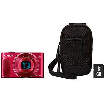Canon PowerShot SX620 HS červený Essential Kit (1073C022)