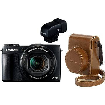 Canon PowerShot G1X Mark II Premium Kit (9167B021) + ZDARMA Ministativ JOBY GorillaPod Magnetic červený