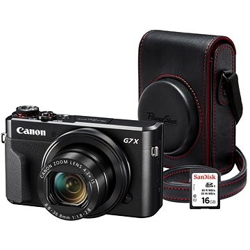 Canon PowerShot G7 X Mark II Premium Kit (1066C013AA)