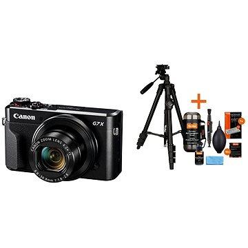 Canon PowerShot G7 X Mark II + Rollei Foto Starter Kit 2