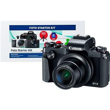 Canon PowerShot G1X Mark III + Alza Foto Starter Kit