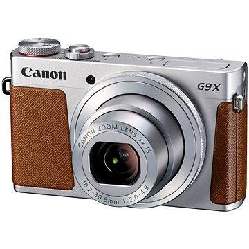 Canon PowerShot G9 X Silver (0924C002) + ZDARMA Ministativ JOBY GorillaPod Magnetic červený