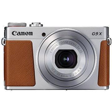 Canon PowerShot G9 X Mark II stříbrný (1718C002AA) + ZDARMA Stativ Rollei Monkey Pod Černý