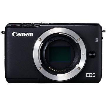 Canon EOS M10 tělo černé (0584C002) + ZDARMA Ministativ JOBY GorillaPod Magnetic červený