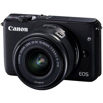 Canon EOS M10 Black + EF-M 15-45mm F3.5 - 6.3 IS STM (0584C012AA)