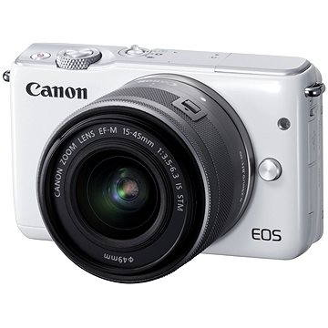 Canon EOS M10 White + EF-M 15-45mm F3.5 - 6.3 IS STM (0922C012AA)