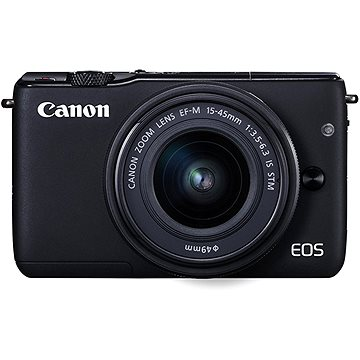 Canon EOS M100 černý + M15-45mm stříbrný + IRISTA (2209C096)