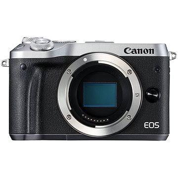 Canon EOS M6 tělo stříbrný (1725C002AA)