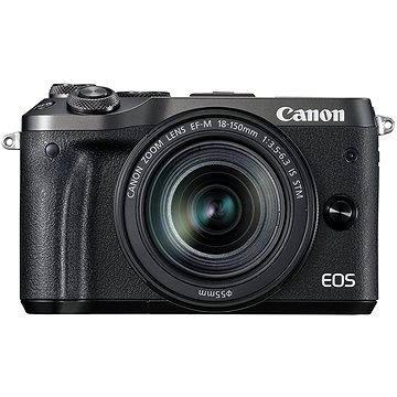 Canon EOS M6 černý + EF-M 18-150mm (1724C022)