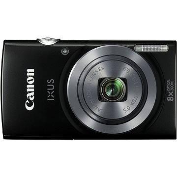 Canon IXUS 160 černý (0135C001) + ZDARMA Paměťová karta SanDisk SDHC 8GB Ultra Class 6