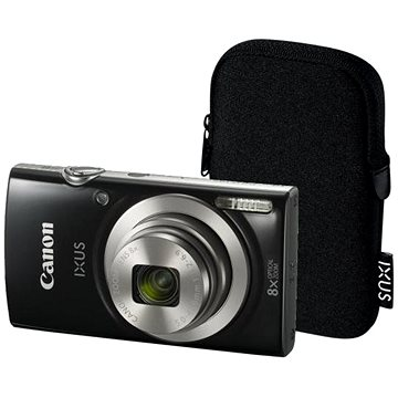 Canon IXUS 185 černý Essential Kit (1803C010AA)