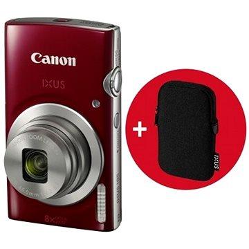 Canon IXUS 185 červený Essential Kit (1809C010AA)