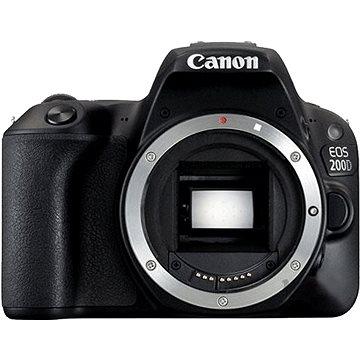 Canon EOS 200D tělo černý (2250C001AA) + ZDARMA Kalkulačka Canon LS-100K zelená