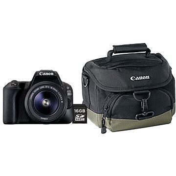 Canon EOS 200D černý + 18-55mm DC Value Up Kit (2250C019AA) + ZDARMA Kalkulačka Canon LS-100K zelená